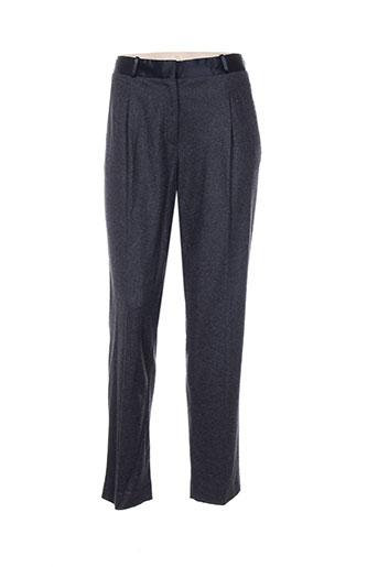 Pantalon chic gris FORTE-FORTE pour femme