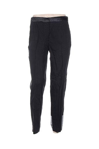 Pantalon chic noir FORTE-FORTE pour femme