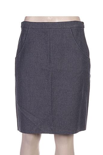 Jupe mi-longue gris A.P.C. pour femme