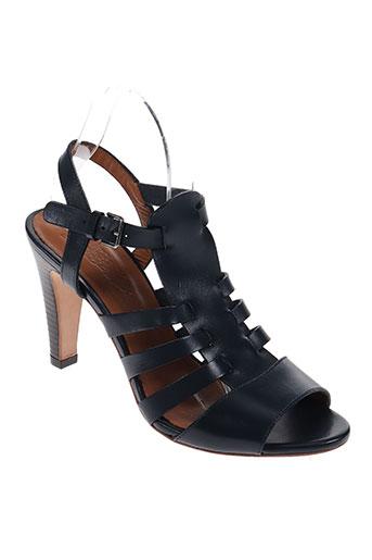 n.d.c chaussures femme de couleur noir