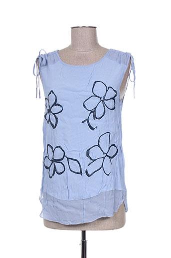 lolitas EFFI_CHAR_1 lolos chemises femme de couleur bleu