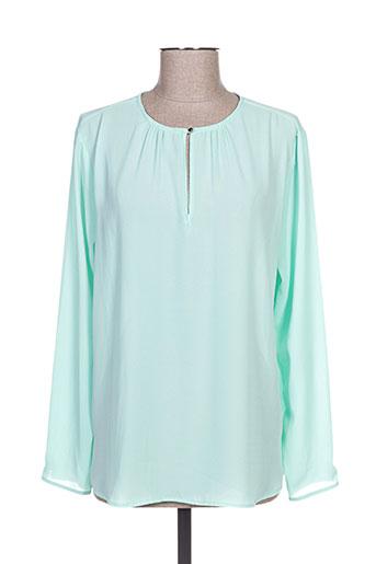 ferrache chemises femme de couleur vert
