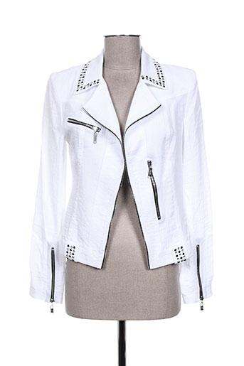 extenzo paris vestes femme de couleur blanc