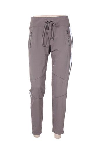 cambio pantalons femme de couleur gris