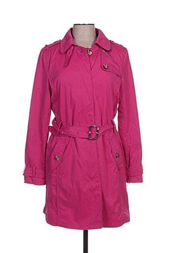 white label manteaux femme de couleur rose