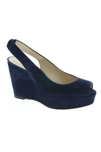 stuart weitzman chaussures femme de couleur bleu