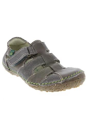 el naturalista chaussures garçon de couleur gris