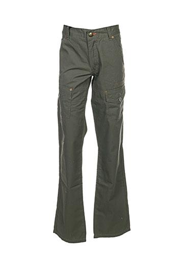 Pantalon casual vert CHEVIGNON pour garçon