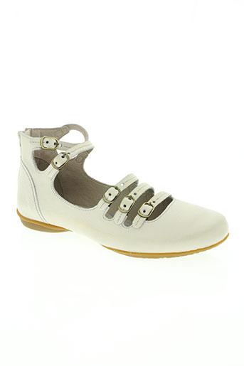 dkode chaussures femme de couleur blanc