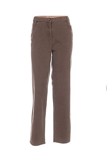 richy jeans femme de couleur marron