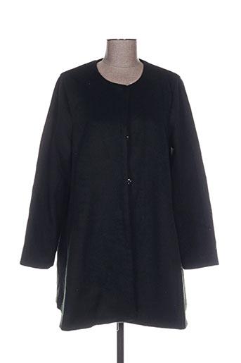 daphnea manteaux femme de couleur noir