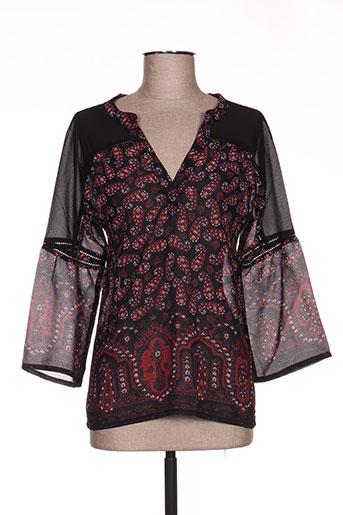 ddp chemises femme de couleur noir