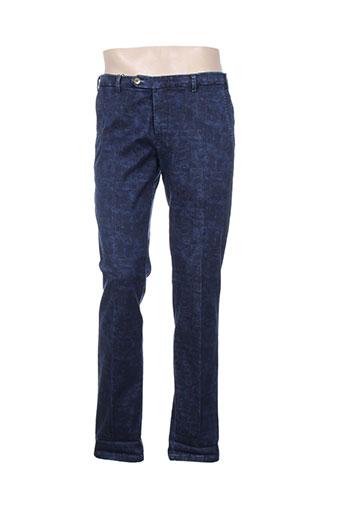 Jeans coupe slim bleu MMX pour homme