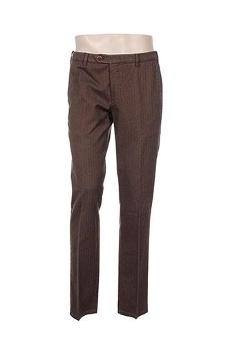 Pantalon casual marron MMX pour homme