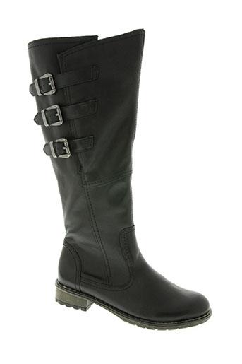 remonte chaussures femme de couleur noir