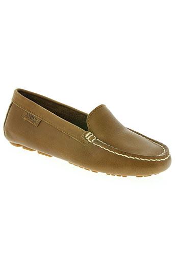 aigle chaussures femme de couleur marron