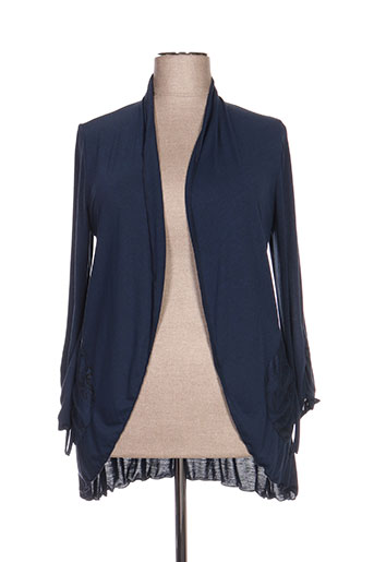 meri EFFI_CHAR_1 esca gilets femme de couleur bleu