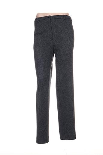 guy dubouis pantalons femme de couleur bleu