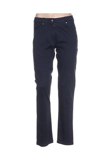 guy dubouis pantalons femme de couleur noir