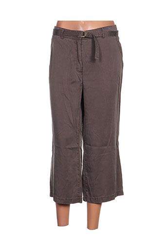 gelco pantacourts femme de couleur gris