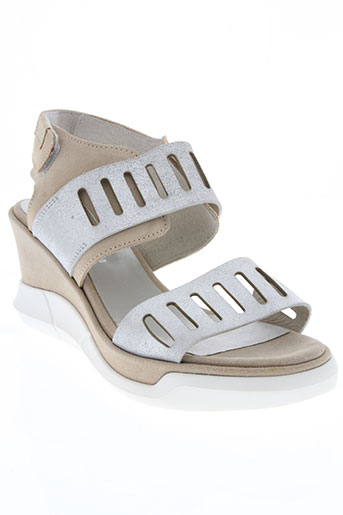 republyka chaussures femme de couleur beige