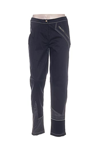 Pantalon casual noir CAROLE RICHARD pour femme