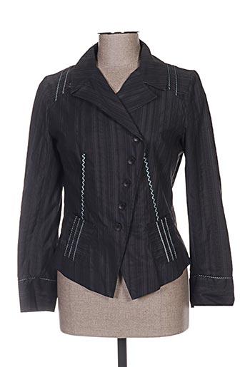 Veste chic / Blazer gris CAROLE RICHARD pour femme