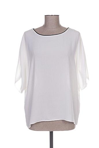 cotton brothers chemises femme de couleur blanc