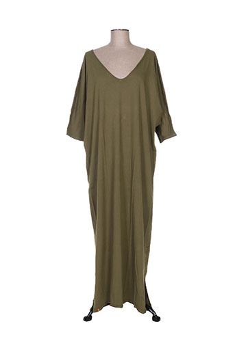 ma(e)vy robes femme de couleur vert