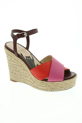 paul smith chaussures femme de couleur rose