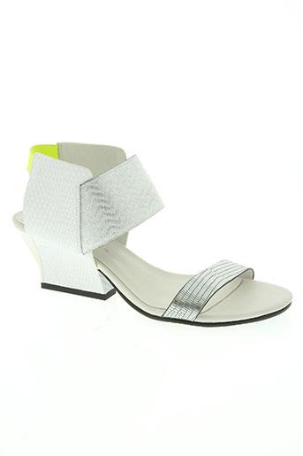 united nude chaussures femme de couleur blanc