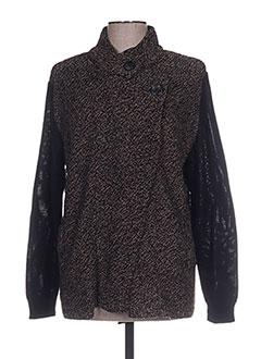 Veste chic / Blazer noir CAPUCCINO pour femme