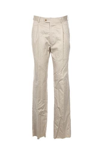 Pantalon casual beige SMART pour homme