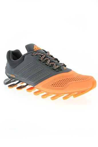 adidas chaussures femme de couleur orange
