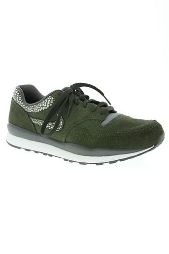 nike chaussures femme de couleur vert