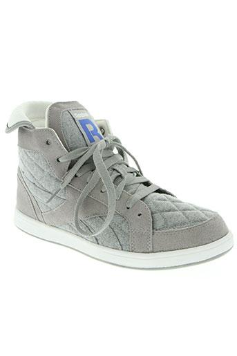reebok chaussures homme de couleur gris