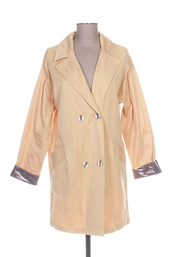 Veste chic / Blazer jaune YAYA pour femme
