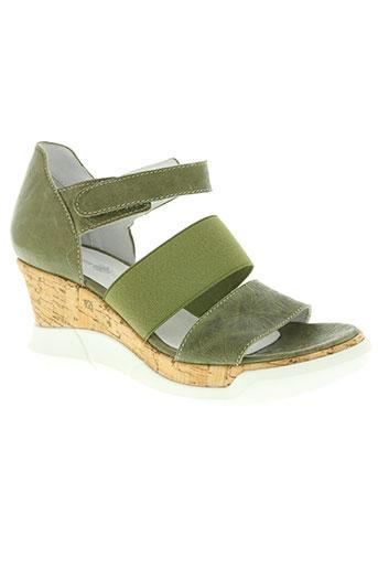 philippe morvan chaussures femme de couleur vert