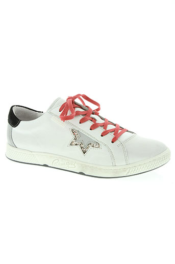 pataugas chaussures femme de couleur blanc
