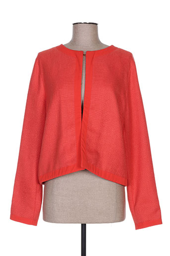 Veste casual orange LA FEE MARABOUTEE pour femme