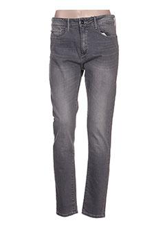 Pantalon casual gris TIFFOSI pour femme