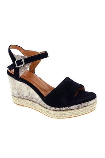 minka design chaussures femme de couleur noir