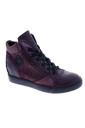 pataugas chaussures femme de couleur violet