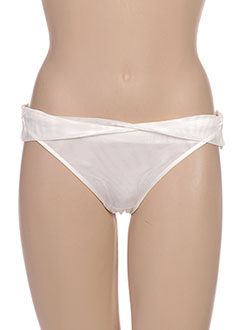 String/Tanga blanc CHANTAL THOMASS pour femme