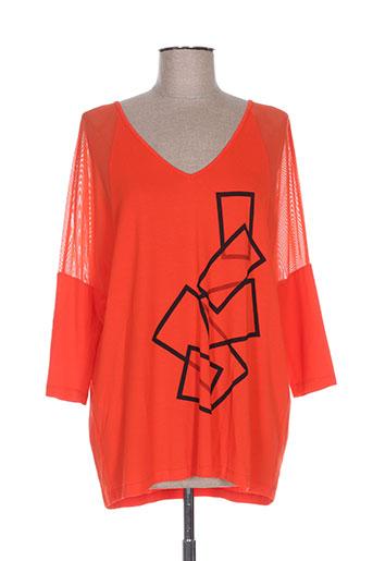 isabel de pedro chemises femme de couleur rouge