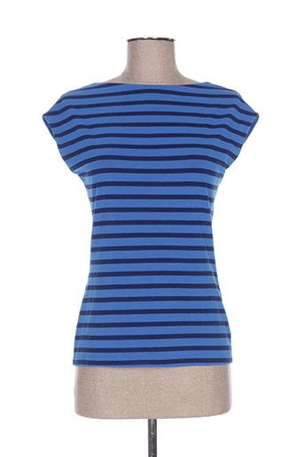 isabel de pedro chemises femme de couleur bleu