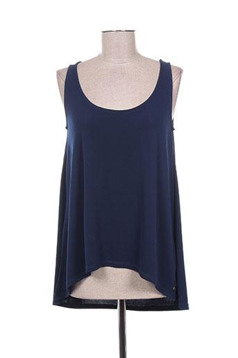 concreto t-shirts femme de couleur bleu