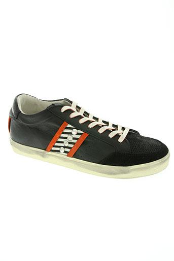 crown chaussures homme de couleur noir