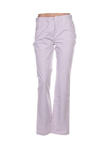 perspectives pantalons femme de couleur violet