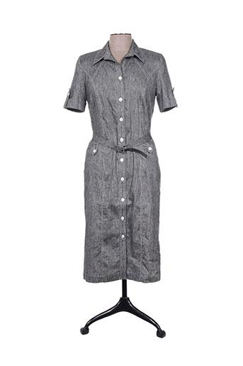 guy dubouis robes femme de couleur gris